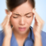 Nurse / doctor headache stress